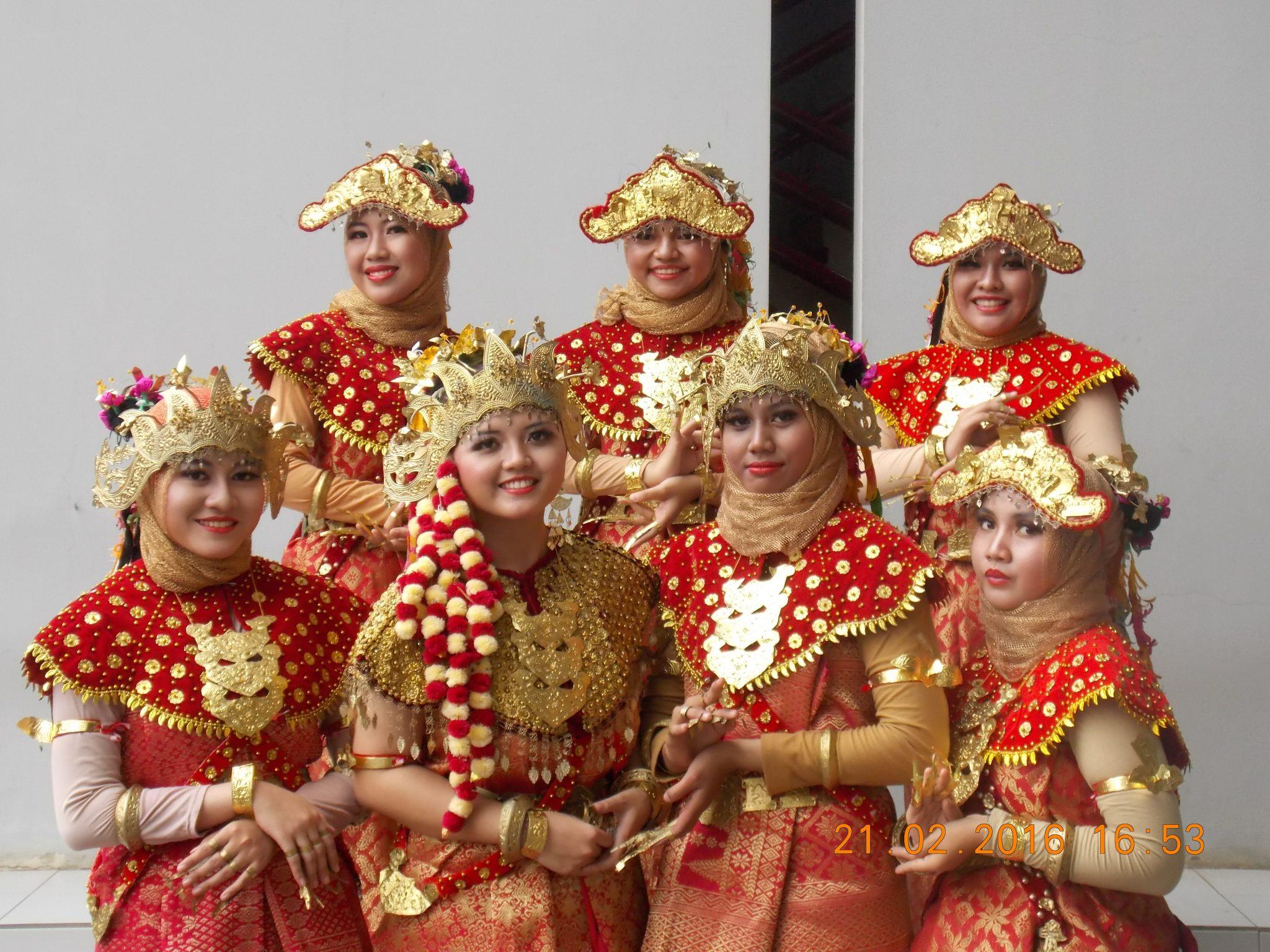 penari gending sriwijaya